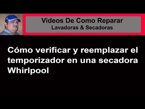 C 243 Mo Comprobar El Temporizador Si Secadora Whirlpool 29 No