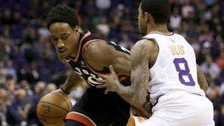 DeMar DeRozan 37 Points 7 Rebounds vs Suns! 2017-18 Season