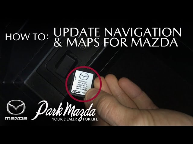 How To Update Your Maps Navigation Sd Card North America Only Park Mazda Youtube