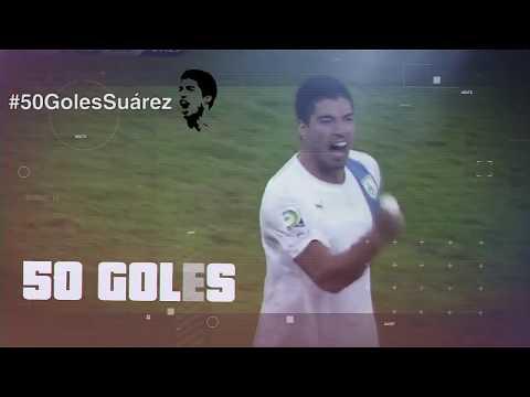 #50GolesSuárez   Video homenaje de la AUF a Luis Suárez (versión corta)
