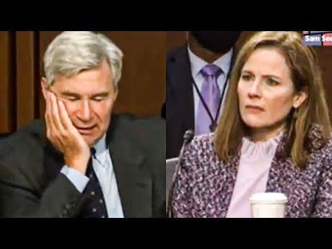 Sheldon Whitehouse Embarrasses Amy Coney Barrett Yet Again