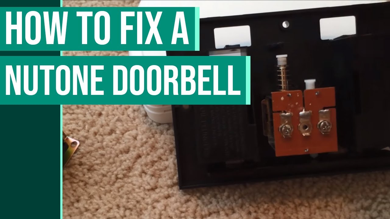 inside a doorbell how to fix a doorbell that doesn 39 t work youtube. Black Bedroom Furniture Sets. Home Design Ideas