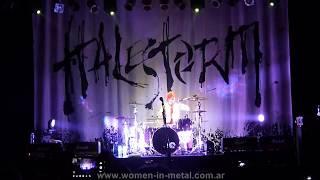 Halestorm en Argentina - Drum Solo @ Teatro Flores (15/06/2013)