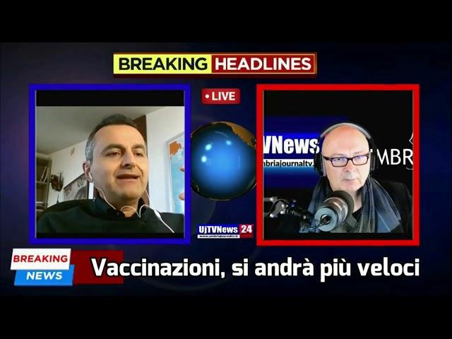 Tg Umbria+Teleterni dell'1 marzo 2021