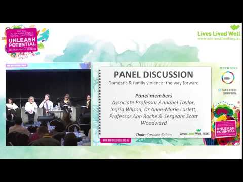 AWS2015 Panel - Domestic & family violence