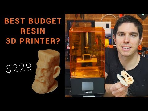 The best budget resin 3D printer? Longer 3D Orange 10 review