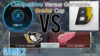 Joshfearless13 vs. Brianstormed -- Snider Cup Tournament (Best of 3, Game 2 -- NHL 18)