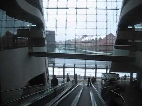 The Black Diamond - Den Sorte Diamant - Copenhagen Waterfront
