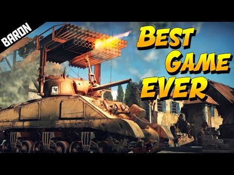 BEST GAME EVER - War Thunder Gameplay Never Played it Promise
