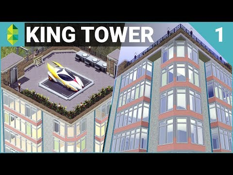The Sims 3 Build - King Tower (Part 1)