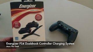 PS4 Energizer Dualshock Controller Charging System