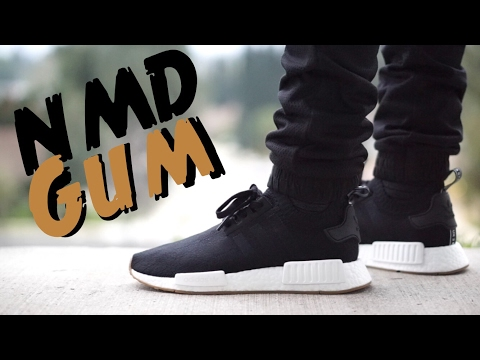 Nmd R1 Black Gum On Feet Off 59 Www Otuzaltinciparalel Com