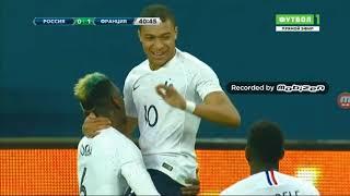 Обзор матча Россия Франция
