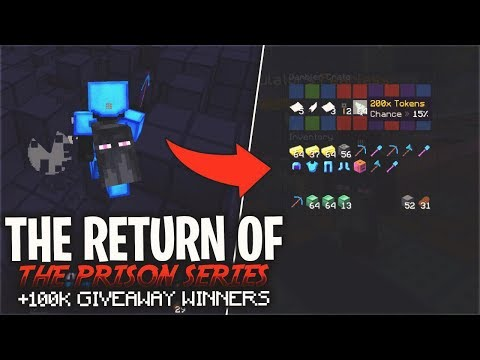THE RETURN OF THE PRISON SERIES... & 100k Giveaway Winners | Minecraft Prison