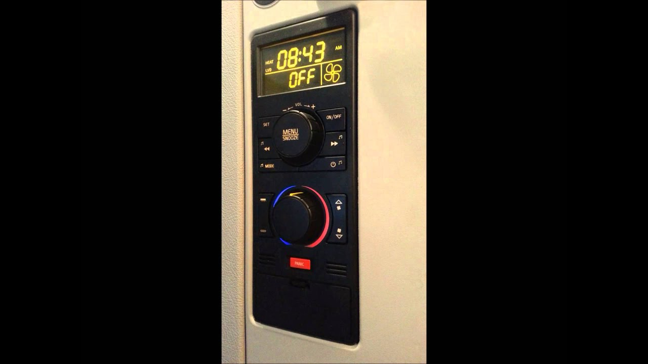 Using the Espar bunk heater with a Volvo controller - YouTube
