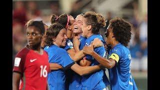 Highlights: Italia-Portogallo 3-0 - Femminile (8 giugno 2018)