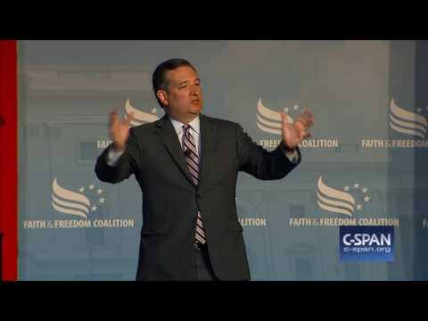 Sen. Ted Cruz (R-TX) cut off (C-SPAN)