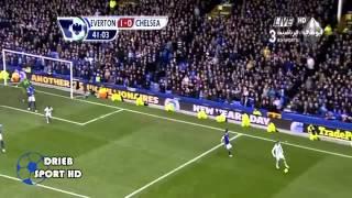 أهداف مباراة إيفرتون 1 - 2 تشيلسي (30/12/2012) فارس عوض [HD]