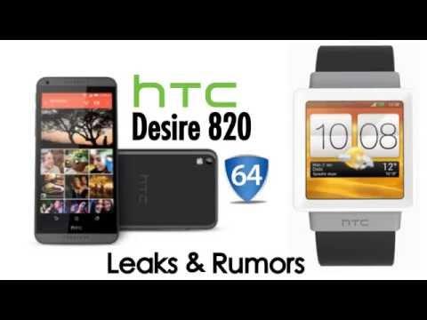 NEW HTC Desire 820 & HTC Smart Watch Leaked