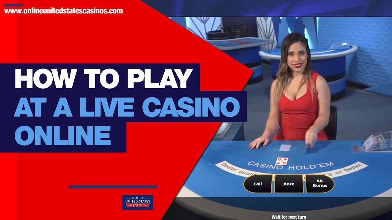 How To Play At A Live Casino Online Usa Live Dealer Casinos Youtube