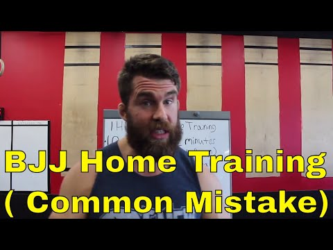 How to Setup a 1 Hour BJJ Training Session from Home / Open Mat