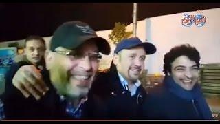 """شاهد : حميد الشاعري و عباس وعبد الخالق """"صداقة العمر بشوارع روض الفرج"""""""