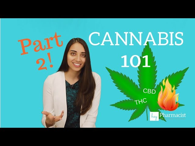 Cannabis 101: Part 2 (Terpenes/Flavonoids/THC/CBD/Heat)