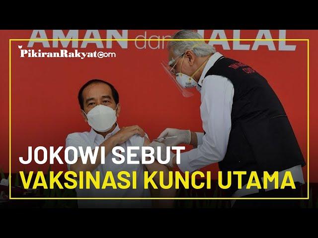Ajak Masyarakat Optimistis di 2021, Presiden Jokowi Sebut Vaksinasi Kunci Utama agar Kembali Normal