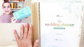 Erin Condren WEDDING PLANNER HAUL + First Impressions + Flip Through