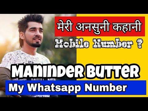 Maninder Butter Punjabi Singer biography  Family Father mother mobile Cars House
