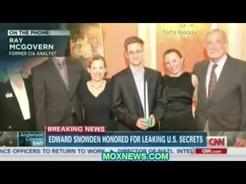 Ray McGovern Describes Giving Edward Snowden Sam Adams Award For Integrity In Intelligence