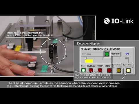 Predictive Maintenance by using OMRON's  IO-Link Photoelectric Sensor