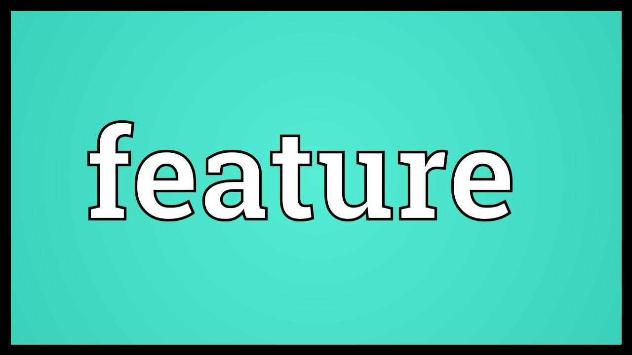 feature meaning youtube