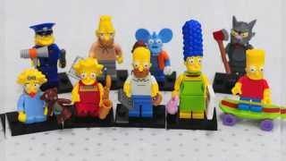 Lego Simpsons Minifigures Brasil