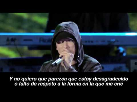 Eminem Ft.Sia - Guts Over Fear Live HD (Subtitulado Español)