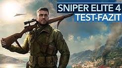 Sniper Elite 4 - Test-Fazit zum Scharfschützen-Shooter