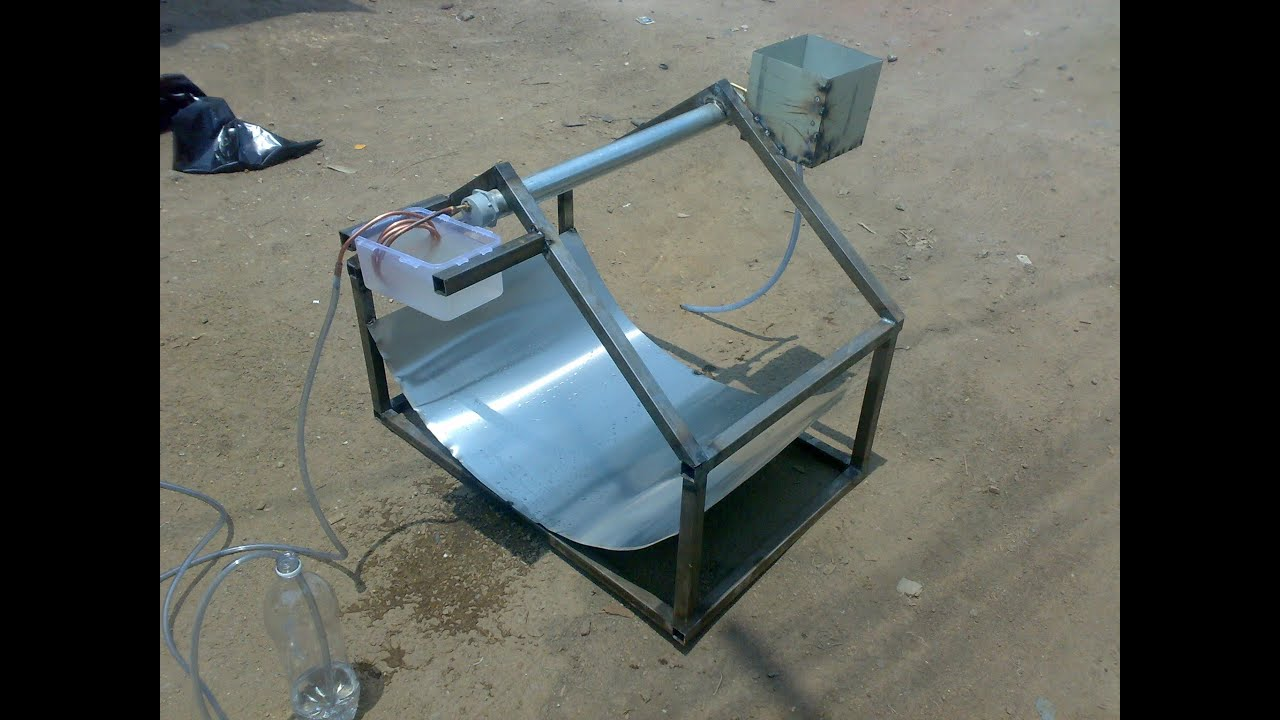 solar water desalination mechanical project how to make