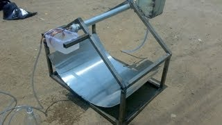 solar water desalination ( mechanical project )  how to make distilled water
