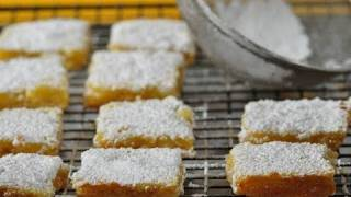 Lemon Bars Recipe Demonstration