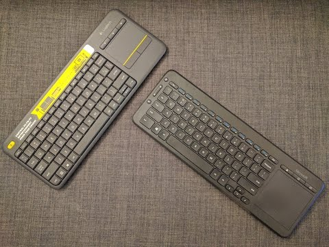 Save ASMR - Logitech K400 Plus vs Microsoft All-in-One Keyboard Pics