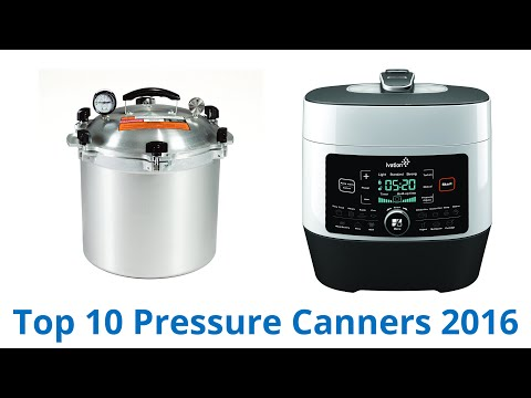 10 Best Pressure Canners 2016