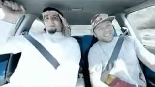 man terrified during test drive