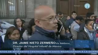 Tenemos el 100% de medicamentos que se requieren para tratamientos en el HIM: Jaime Nieto Zermeño