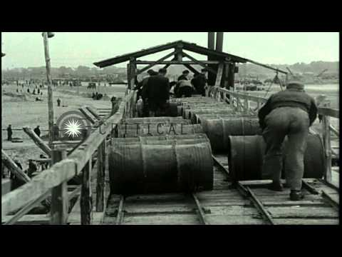 Activities in Tegel, Gatowa and Tempelhof during the Berlin Blockade. HD Stock Footage