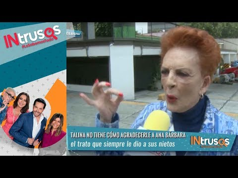 Talina Fernández habla sobre la relación que lleva con Ana Bárbara | Intrusos