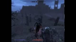 Играем в Skyrim : миссия 46 За гранью смерти (За вампиров)