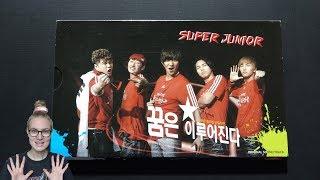 Unboxing Super Junior 슈퍼주니어 Victory Korea On The Pitch 꿈은 이루어진다 OST Album