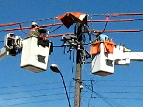 Trabajos eléctricos desenergizados