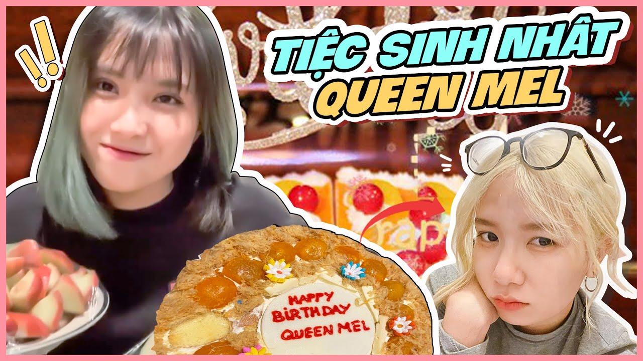 Tiệc Sinh Nhật Đạm Bạc Cuối Tháng Cho Queen Mel – Nabee TV