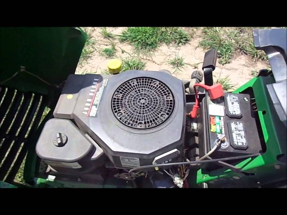 John Deere LT150 Riding Mower  YouTube